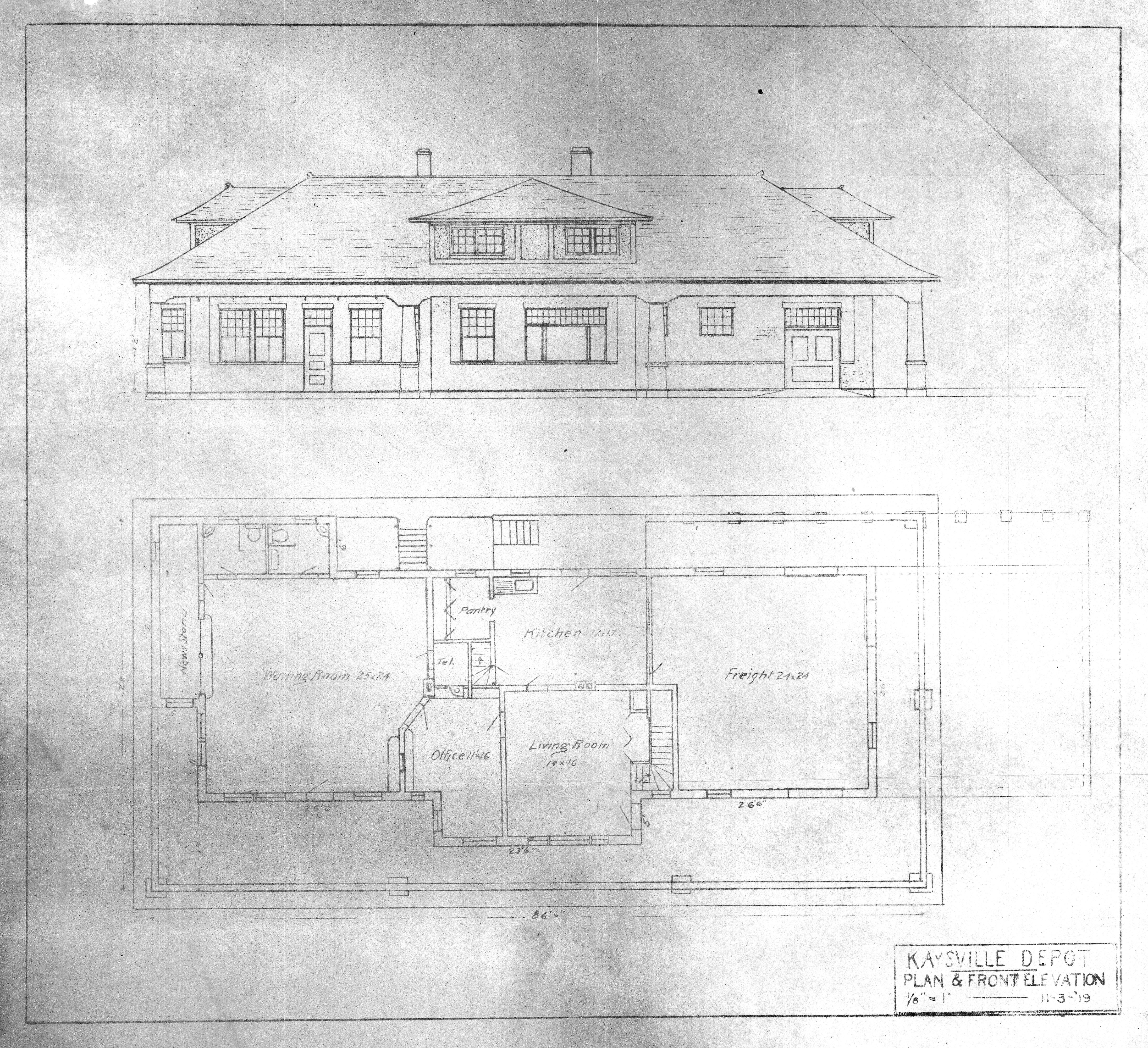 Scanned Drawings Index on small church floor plans, architecture house plans, model railroad engine house plans, railroad house floor plan, railroad building drawings, railroad depot furniture, model rail plans, vintage railroad depot plans, o 27 scale track plans, railroad platform plans, railroad depot drawings, train depot building plans, railroad apartment floor plan, atlas plans, car plans, s gauge track plans, simple model railroad track plans,